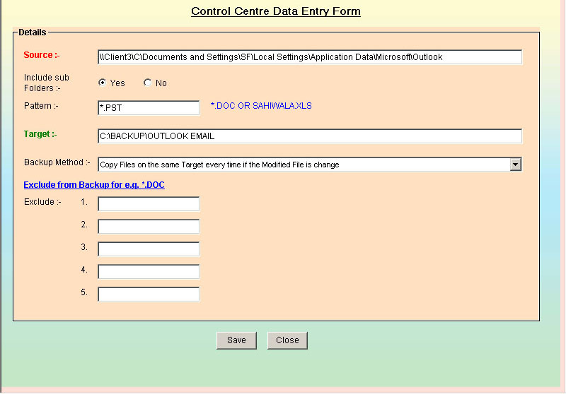 how to make data entry software