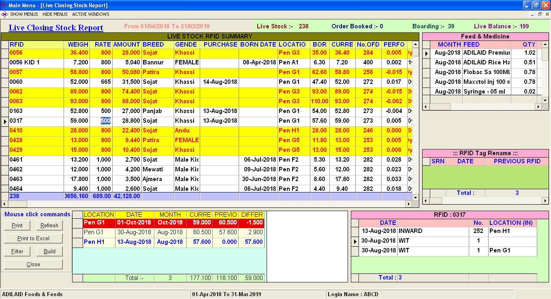 Livestock Management Software,Goat